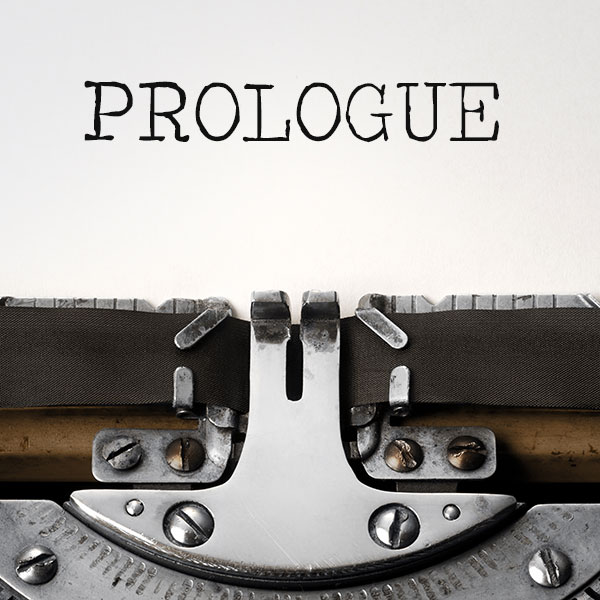 how to write a prologue well